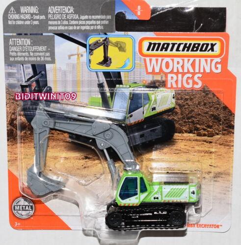 Matchbox 2020 Verschleißteile Rigs Schutzhülle H MBX Bagger