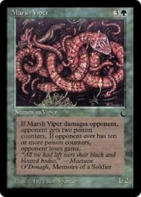 NM Marsh Viper X4 *CCGHouse* Magic The Dark MTG