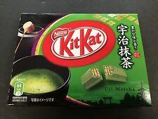 Limited Japanese Kit Kat Uji Matcha Green Tea Chocolates KitKat Mini 3 Pieces