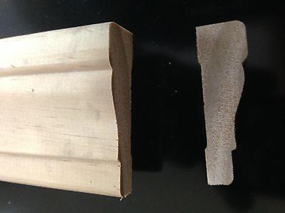 11/16 x 2-1/4 x7 Solid Pine Colonial Window & Door Casing Molding Trim Moulding