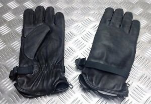 Genuine-British-Military-Soldier-95-Black-Leather-Combat-Gloves-MVP-Assorted
