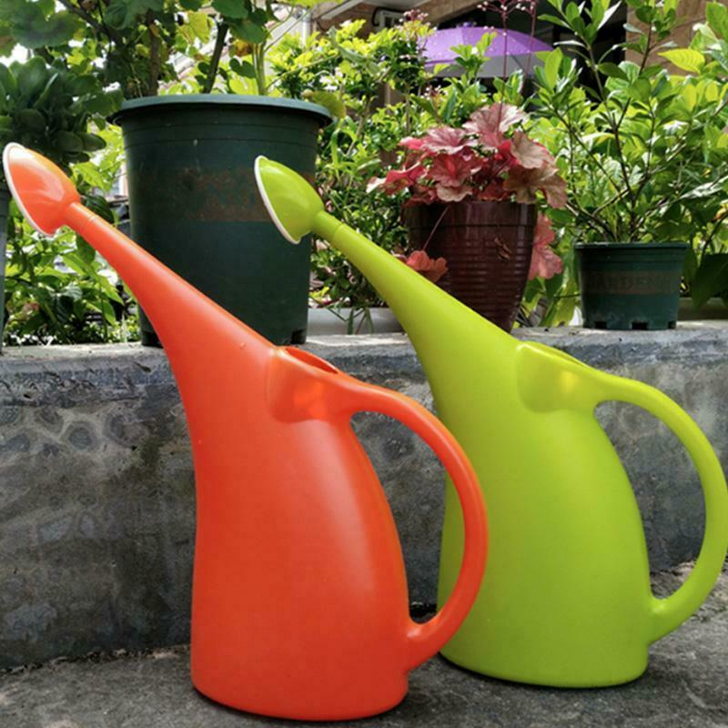 2/3L Long Mouth Bottle Watering Pot Watering Can Garden Tool for Home Plant