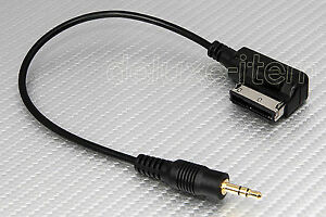 Music Interface AMI Mm Mini Aux Input MP Cable Adapter Cord - Audi ami cable