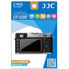 JJC LCP-X100T ultra hard polycarbonate LCD Film Screen Protector Fuji X100T 2Pcs