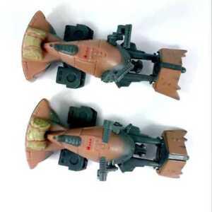 2x-Playskool-Star-Wars-Galactic-Heroes-Endor-74-Z-Speeder-Bike-Scout-Trooper-toy