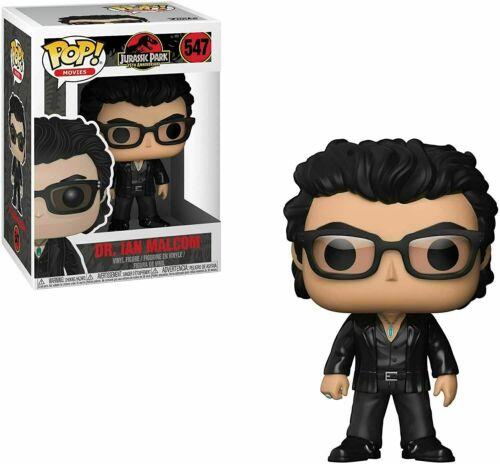 Ian Malcolm Collectible **DAMAGED BOX** Movies: Jurassic Park Dr Funko Pop