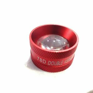 Red-Colour-78-D-Double-Aspheric-Lens-Ophthalmology-Lens-Expedited-Shipping