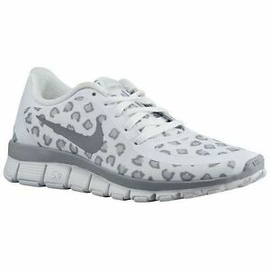 Nike Womens Grey Leopard Shoes