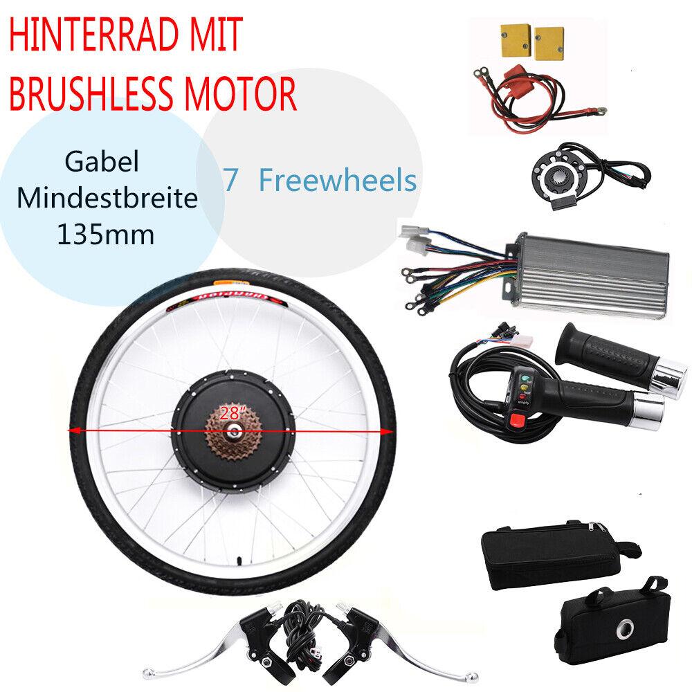 1000W, 48V 28  vélo électrique Bike conversion kit de conversion arrière E-BIke