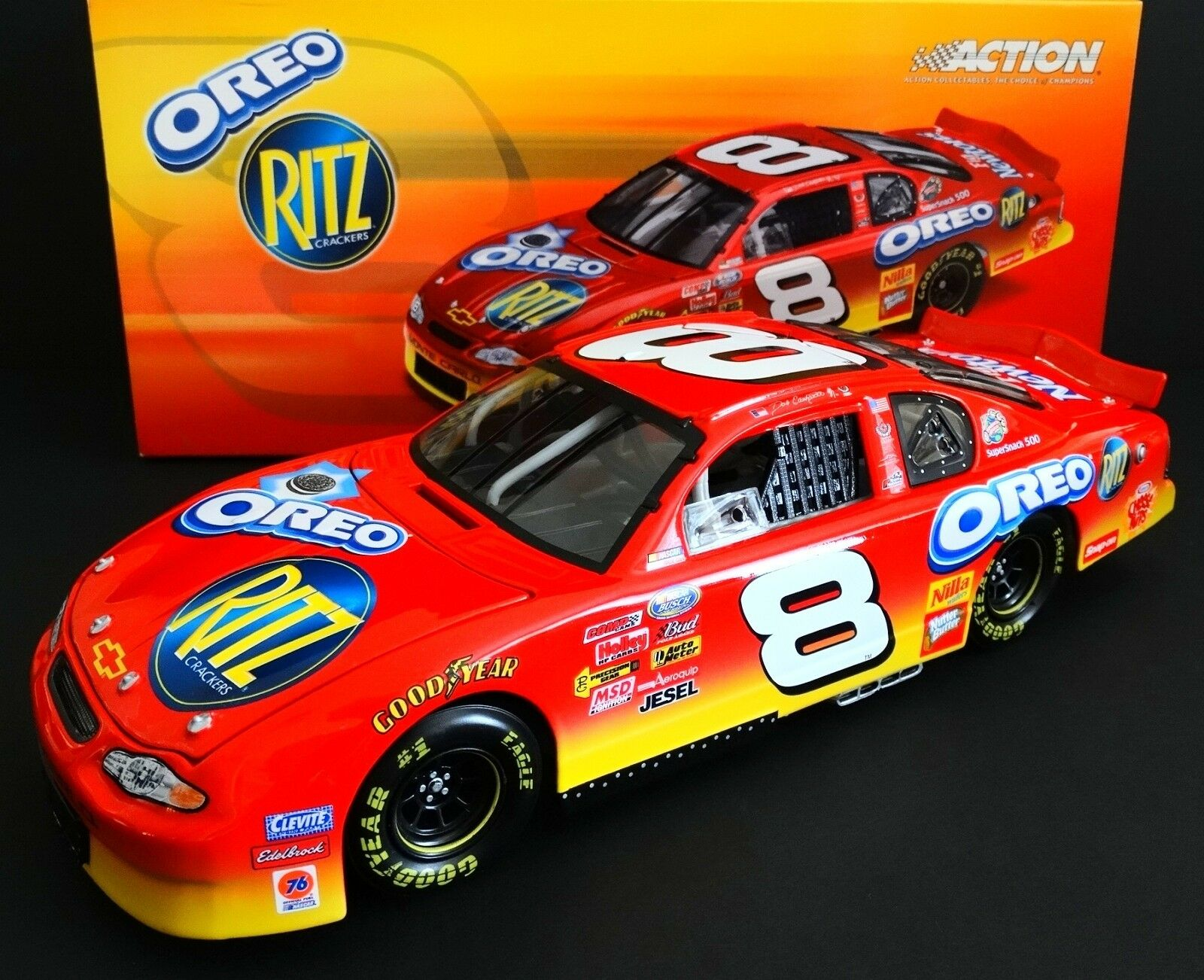 Dale Earnhardt, Jr. Ritz Oreo 1 18 Action 2003 DAYTONA WIN Monte Carlo 1 4056
