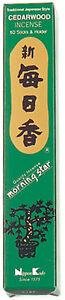 Nippon-Kodo-Morning-Star-Incenso-Giapponese-Cedro-50-Bastoncini-Porta