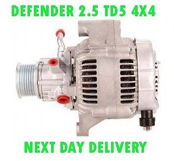 LAND ROVER DEFENDER 2.5 TD5 4X4 1998 1999 2000 2001 2002 /> on ALTERNATOR