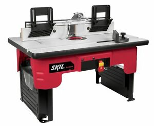 Skil ras900 portable woodworking garage shop precision saw router stock photo greentooth Images