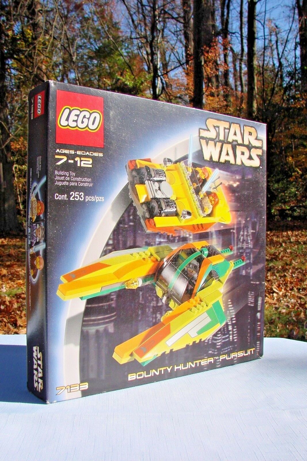 ~~~ Lego 7133 Star Wars BOUNTY HUNTER PURSUIT ~ Factory Sealed Box ~~~
