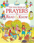 The Lion Book of Prayers to Read and Know by Sophie Piper (Hardback, 2009)