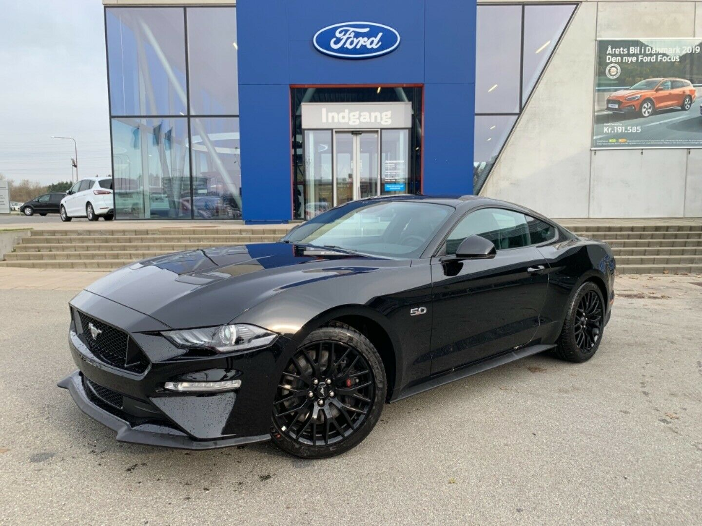 Ford Mustang 5,0 V8 GT Fastback