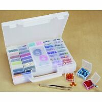 Darice Bead Organizer Carrying Case, 7.5 By 10-inch , New, Free Shipping on Sale