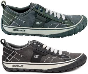 CAT-CATERPILLAR-Neder-Canvas-Sneakers-Baskets-Chaussures-pour-Hommes-Nouveau