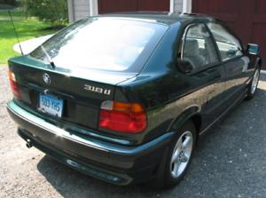 Boot  LIP SPOILERS  BMW 318TI 1998 HATCH
