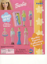 Barbie Mattel Mini Figure Collection Series 1 TOMY Cake Topper Single Doll D