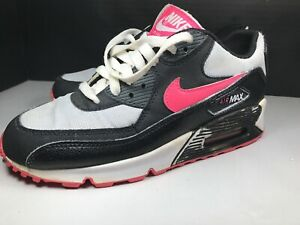 Nike Air Max 90 2007 GS White Purple Youths Trainers | eBay