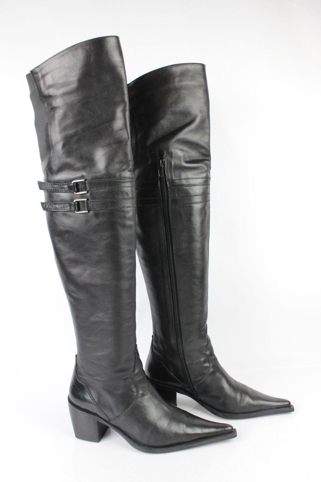 Zapatos especiales con descuento Bottes Genoux Cuissardes SEMOG Cuir Noir T 36 TBE