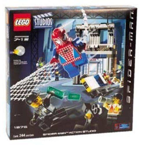 Lego Spider-Man 1376 Spider-Man Action Studio   BRAND NEW  MISB  VERY RARE