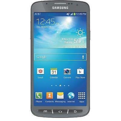Samsung Galaxy S4 Active SGH-I537 (AT&T) (Straight Talk) Good Rugged Smartphone