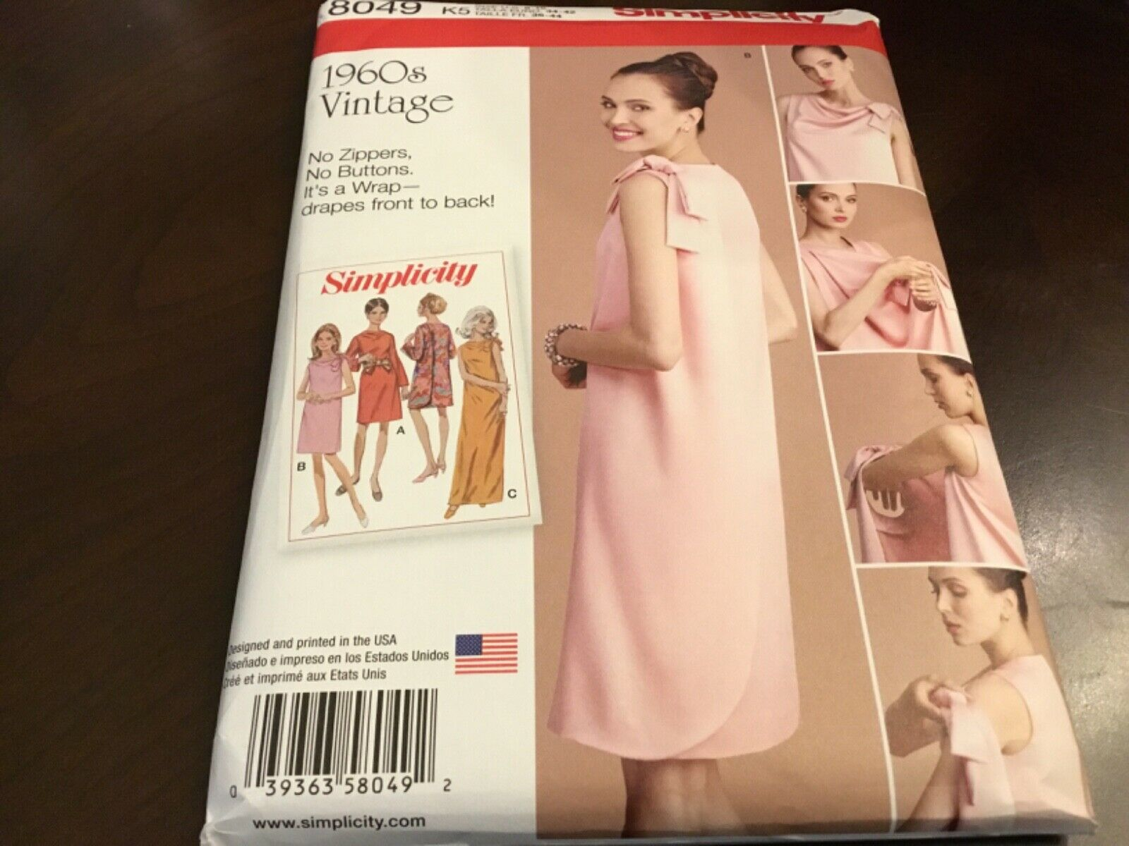 NEW LOOK sewing pattern ~ 6491 Misses Femme Boho Robes 10-12-14-16-18-20-22