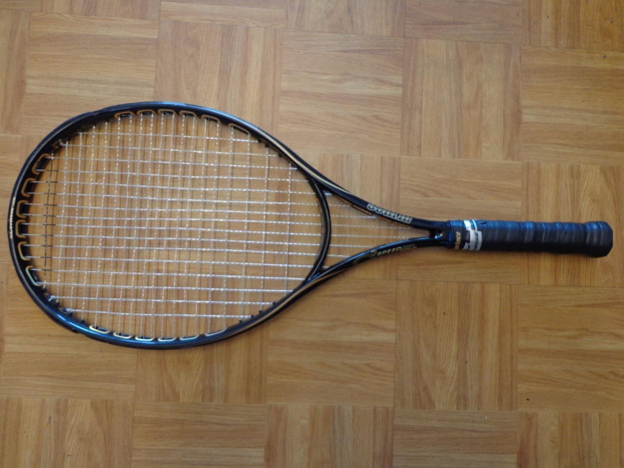 Prince O3 SpeedPort gold Oversize 115 head 4 5 8 grip Tennis Racquet