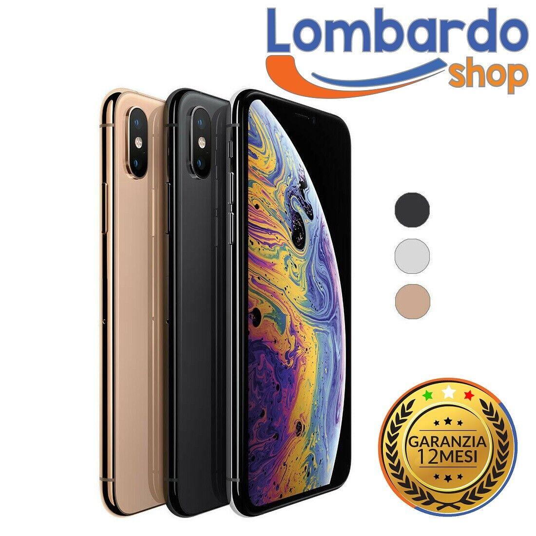 iPhone: IPHONE XS RICONDIZIONATO 64GB GRADO B BIANCO NERO ORO APPLE RIGENERATO ORIGINALE