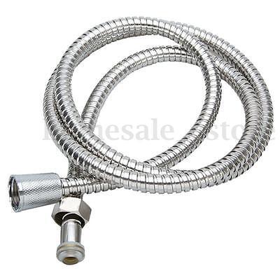 "1.5m 59"" Stainless Steel Bathroom Heater Water Shower Head Hose Pipe Flexible"