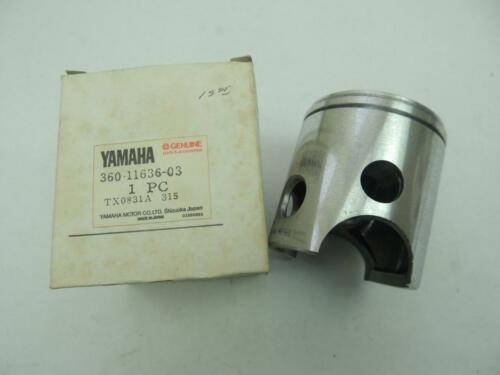 360-11636-03 NOS Yamaha Piston 2nd O//S 64.50mm 1973 RD350 1974 RD360A W10284