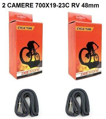 """Presta 40mm per Bici 28/"""" Corsa Vintage 2 Camera d/'aria MICHELIN 700x18//25C Valv"""
