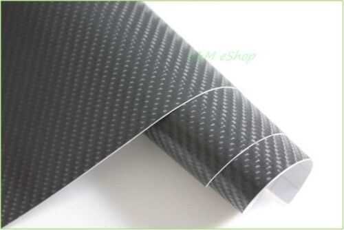 4D Carbon Fibre Vinyl Wrap Film Sticker  Carbon Fibre Car Wrap