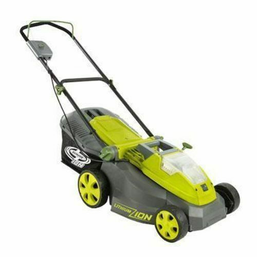 Snow Joe Ion16lm Battery Operated Cordless Lawn Mower