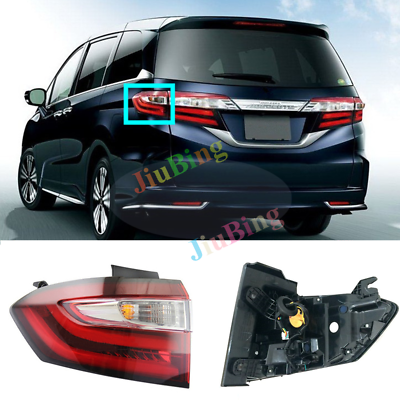 Outer Left Side Tail Light Stop Brake Light Rear Lamp For Honda Odyssey 2014~18