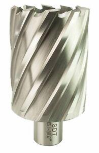 "Steel Dragon Tools® 1-7//16/"" x 2/"" HSS Annular Cutter with 3//4/"" Weldon Shank"
