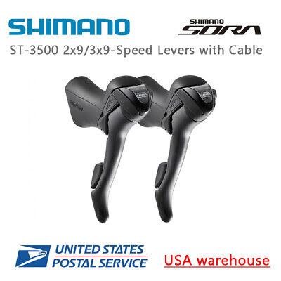 Shimano Sora ST 3500 Shift Brake Lever 2x9 3x9Speed Left Right Road Bike Bicycle