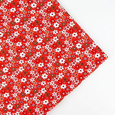 160x50cm Cartoon Flower cotton fabric patchwork quilt sewing DIY Cloth 6 Colors