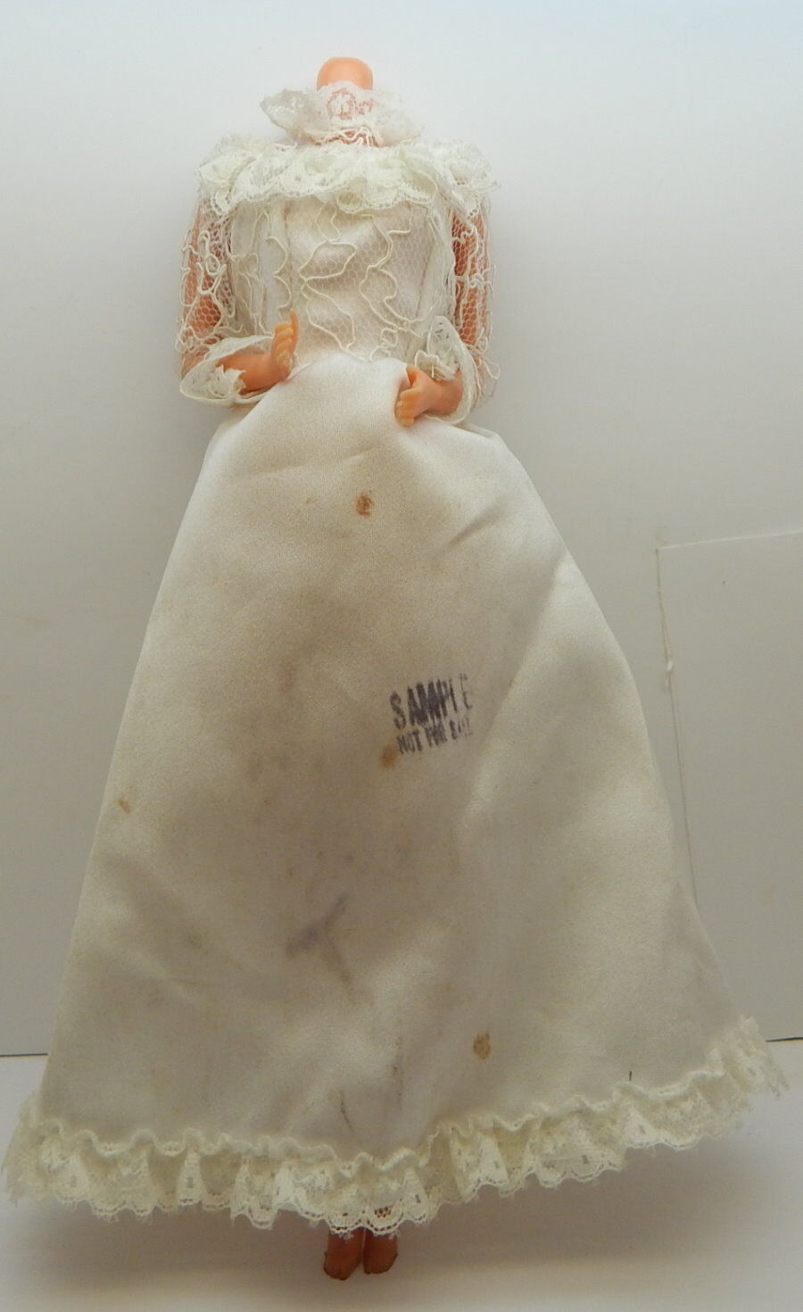 Mattel Barbie Factory Sample Wedding Dress and Pre Production Doll R18128