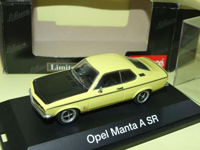 OPEL MANTA A SR yellow yellow yellow & black SCHUCO 1 43 61df2c