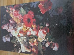 FLORAL BOUQUET CONNOISSEUR  QUALITY COMPLETE JIGSAW PUZZLE 1000 PCS USED - <span itemprop=availableAtOrFrom>Blandford Forum, United Kingdom</span> - FLORAL BOUQUET CONNOISSEUR  QUALITY COMPLETE JIGSAW PUZZLE 1000 PCS USED - Blandford Forum, United Kingdom