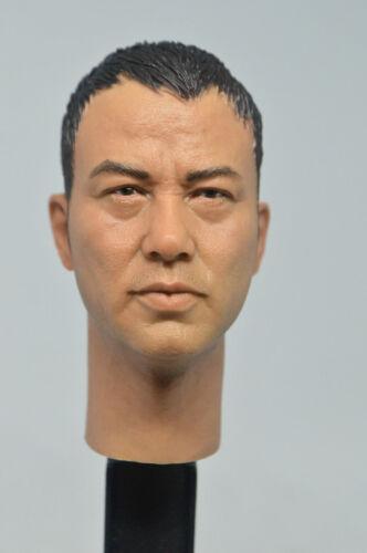 Custom long neck  Simon Yam 1//6 ren da hua figure HEAD ONLY headplay IN STOCK