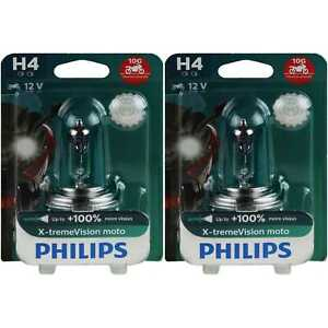 2x-Philips-H4-X-treme-Vision-Moto-12V-60-55W-Sockel-P43t-NEU