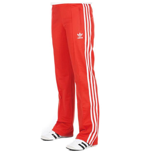 adidas Originals Firebird TP Track Pants Damen Trainingshose Sporthose Rot  Weiß