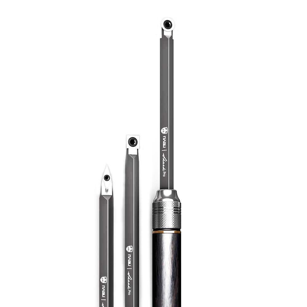 NAGU 10300 Shark Mini 3PCS Carbide Turning Tools Set