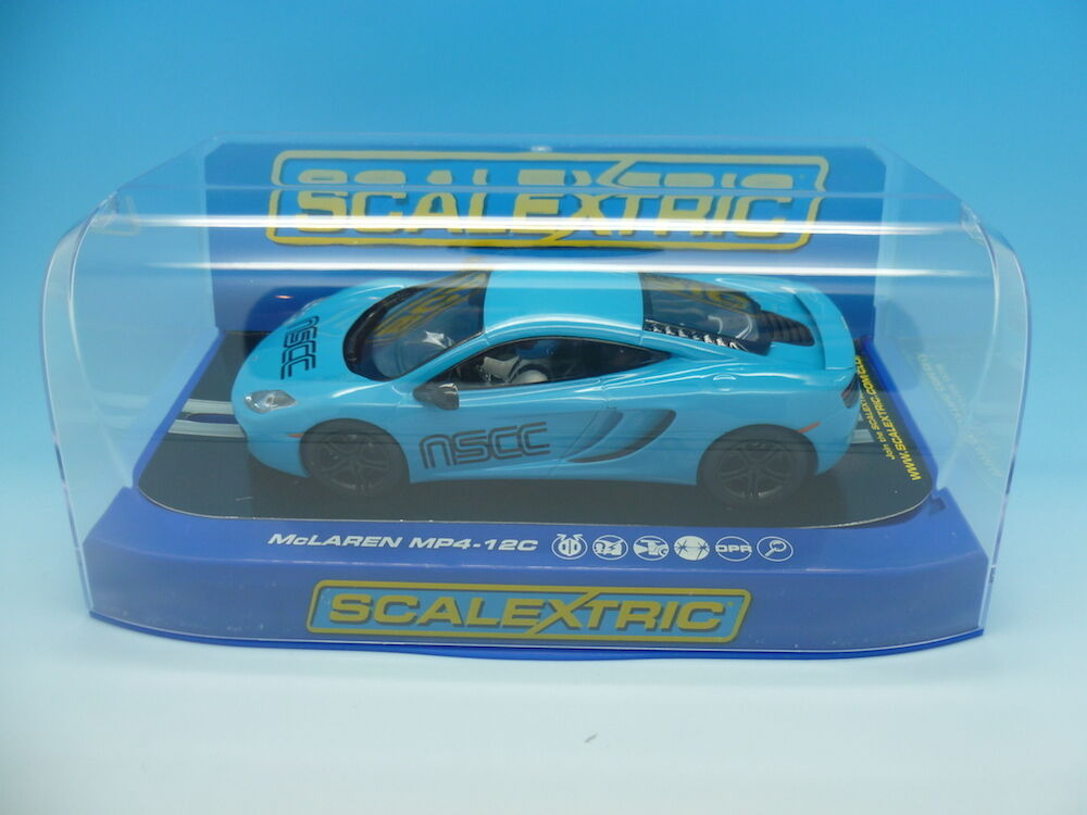 Scalextric C3332 McLaren MP4 NSCC Limited Edition of only 70
