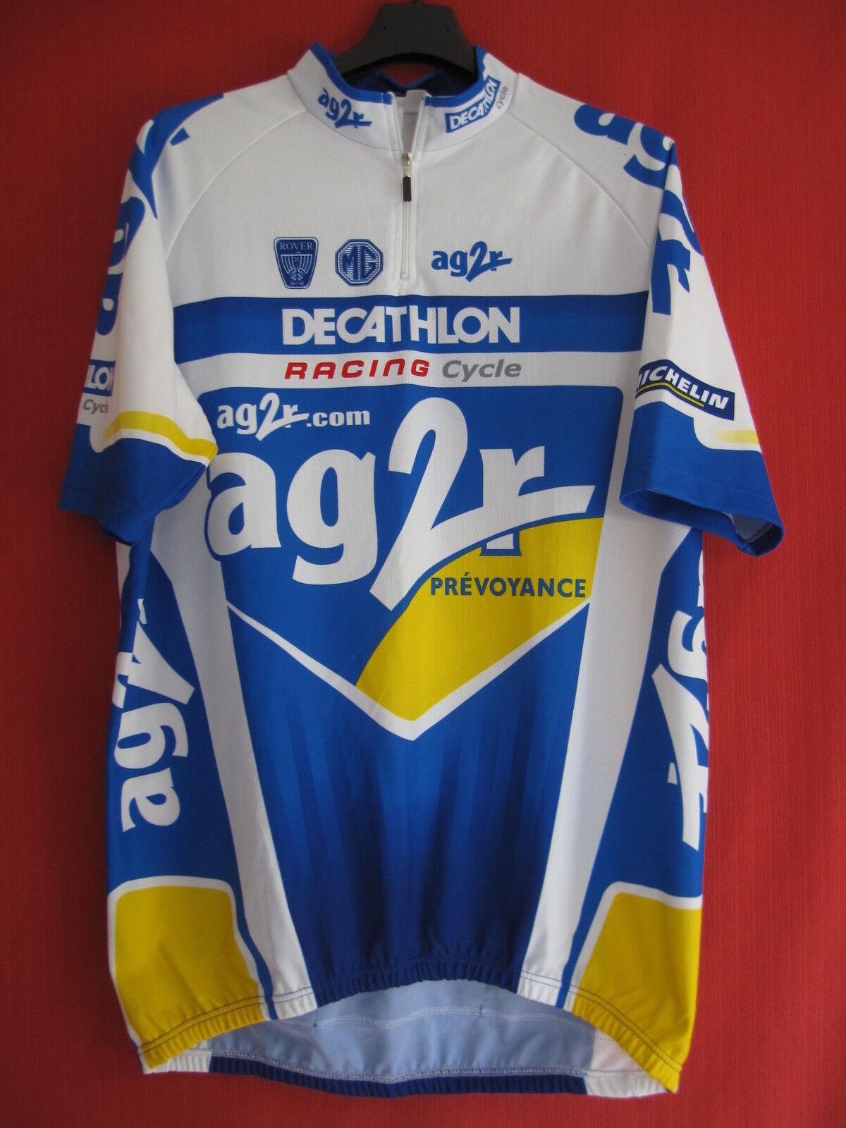 Maillot cycliste AG2R Racing Cycle Decathlon Tour de France - XXL
