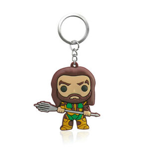Aquaman-Jason-Momoa-PVC-Kawaii-Cartoon-Novelty-Novelty-Keyring-Keychain-Gift-Bag